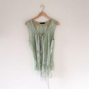 BCBG MaxAzria Silk Blouse